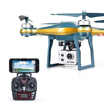 Serria Drone con cámara HD 720P WiFi FPV Helicóptero teledirigido ...