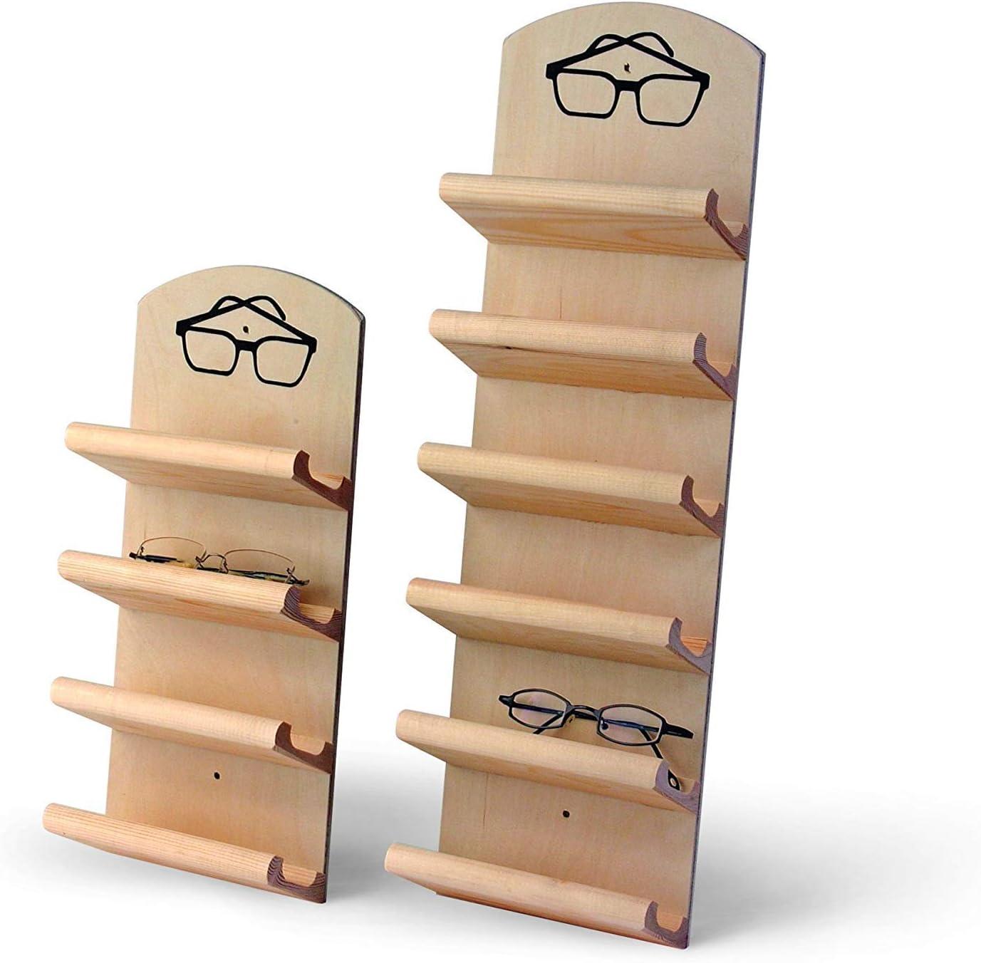 Sauna Classic Eyeglass holder fa/ƒa/¼r 6 Glasses Glasses rack 6-car glasses rack by Finnsa