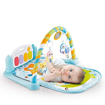 Gimnasio para Bebés, Recién Nacido Baby Play Mat con Activity Center ...