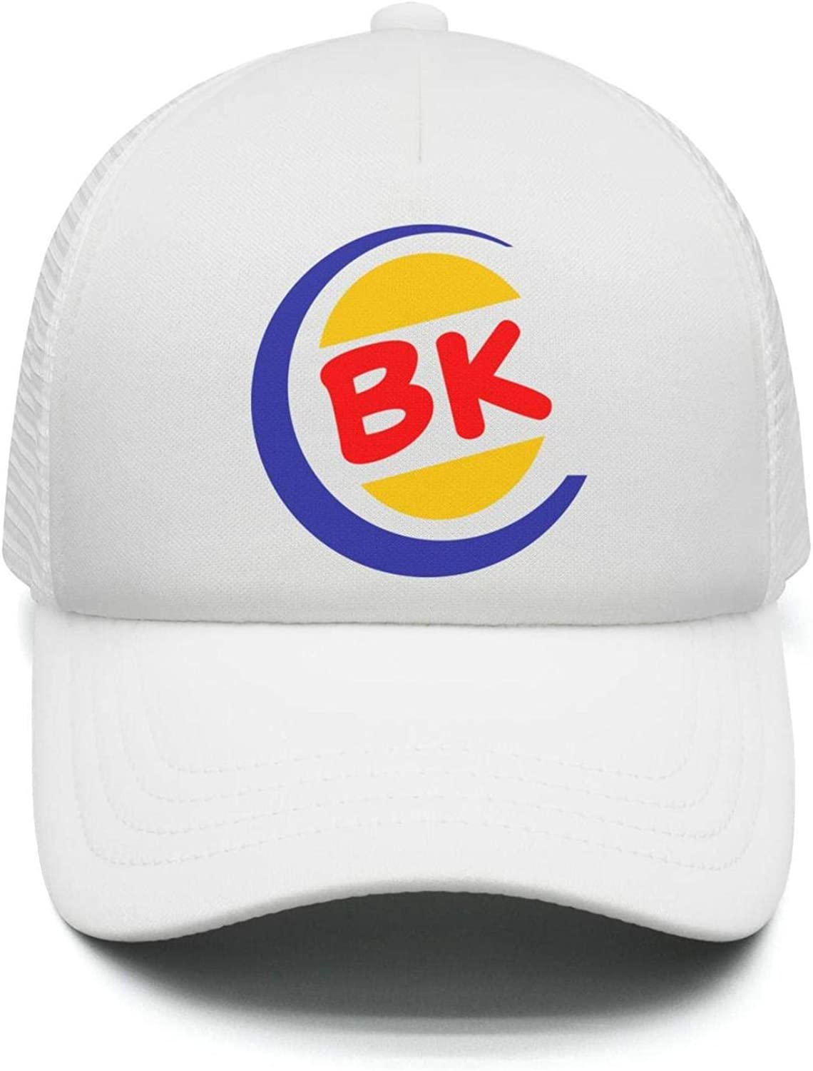 Cap Soft Baseball Hat UONDLWHER Adjustable Unisex Burger-King-Logo