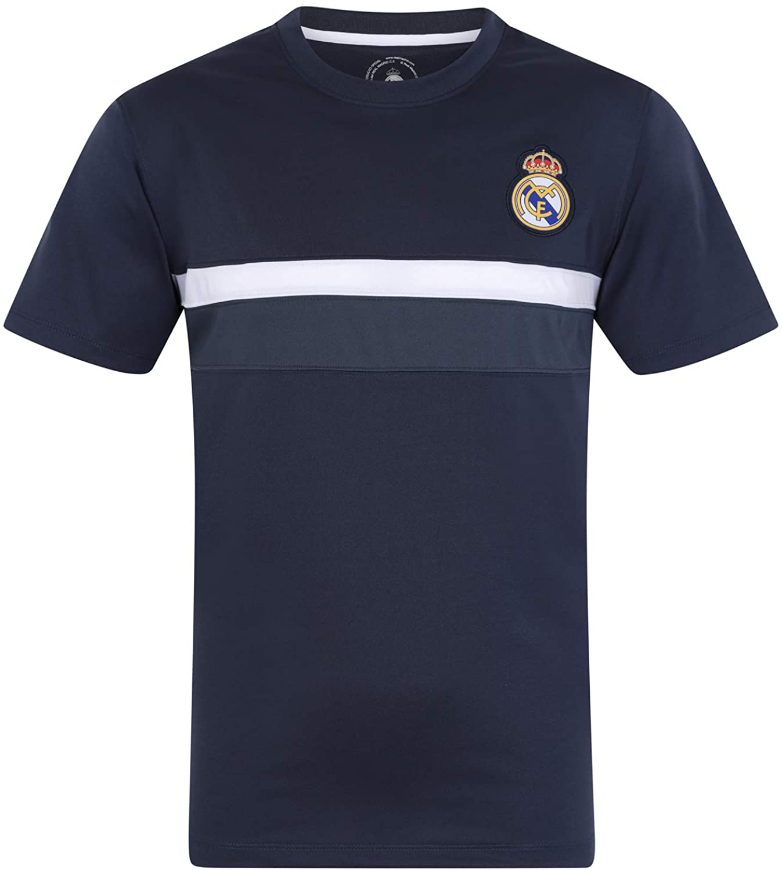 Real Madrid - Camiseta Oficial para Entrenamiento - para niño ...