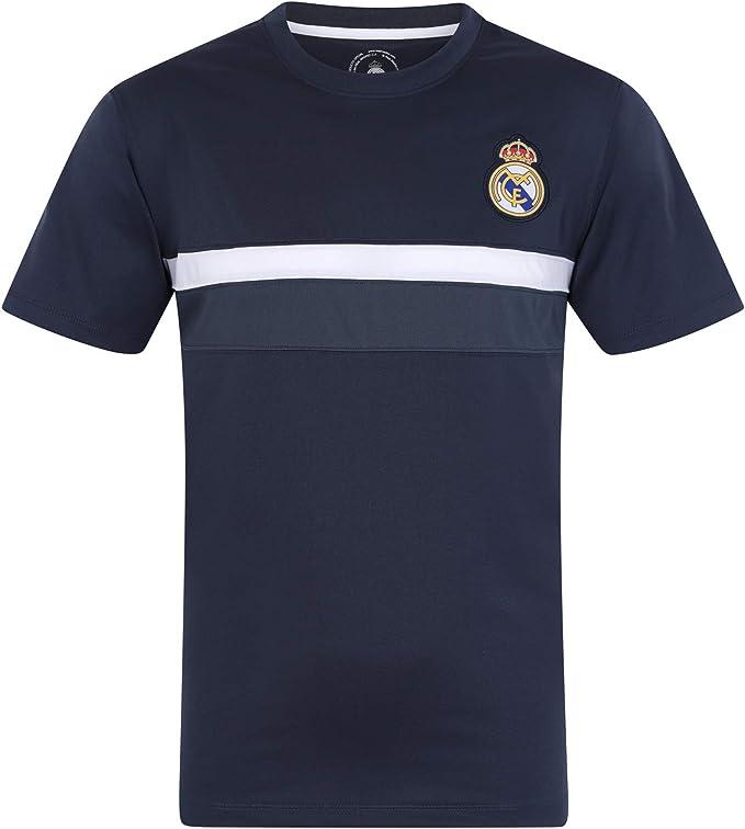 Real Madrid - Camiseta Oficial para Entrenamiento - para niño - Poliéster: Amazon.es: Ropa y accesorios