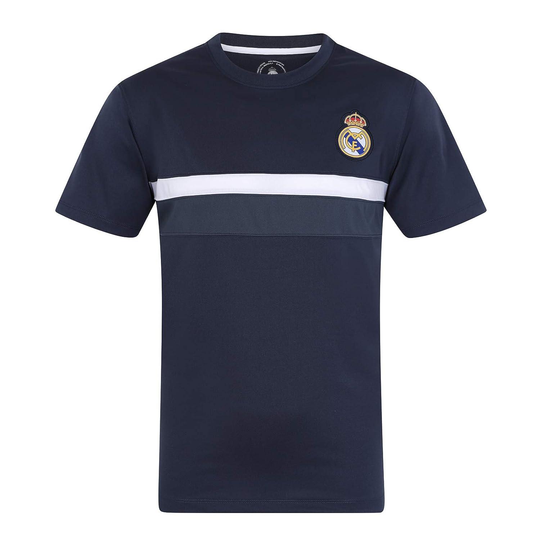 Real Madrid - Camiseta Oficial para Entrenamiento - para Hombre - Poliéster: Amazon.es: Ropa y accesorios