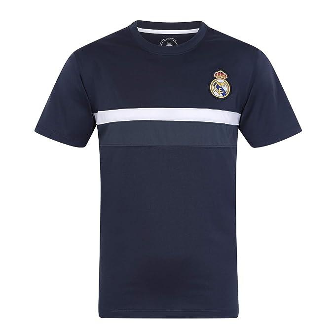 e1d0397f01bb0 Real Madrid Camiseta Oficial para Entrenamiento - para Niño - Poliéster   Amazon.es  Ropa y accesorios