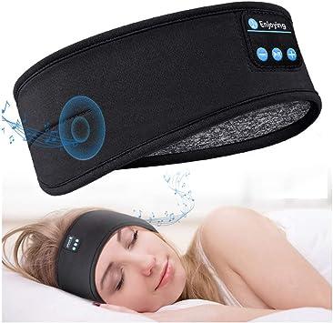 Wireless Headset,with Speaker Mic Washable Bluetooth Headband Headphone