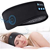 Sleep Headphones Bluetooth 5.0 Sleeping Headphones Headband - Thin Soft Elastic Comfortable for Side Sleeper, Wireless…