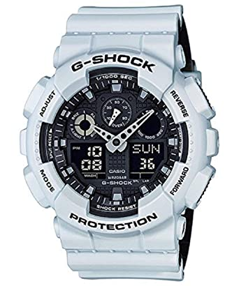 954eb125b0e Amazon.com: Casio G-Shock GA-100 Military Series Watches - White/One ...