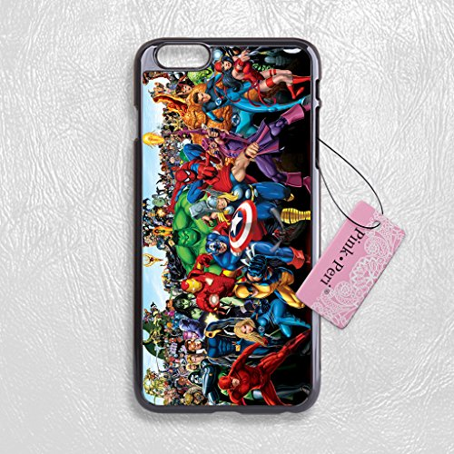 6 plus marvel case - 2