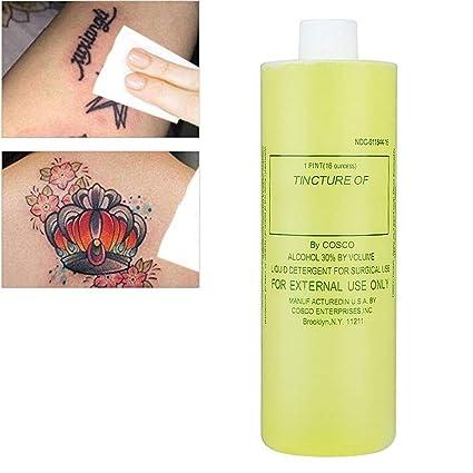Limpiador para tatuajes, 480 ml de alto enriquecimiento para el ...