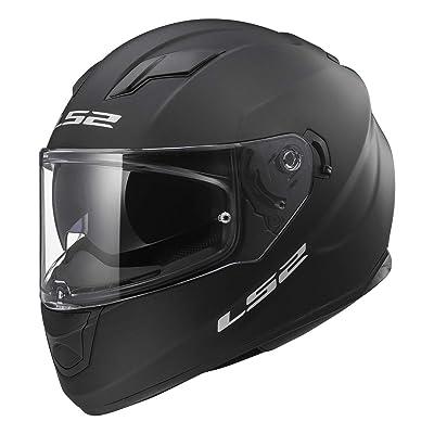 LS2 Helmets Full Face Stream Street Helmet (Matte Black - Large): LS2 Helmets: Automotive