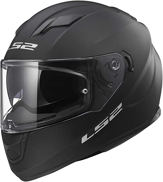 LS2 Helmets Full Face Stream Street Helmet (Matte Black - X-Large)