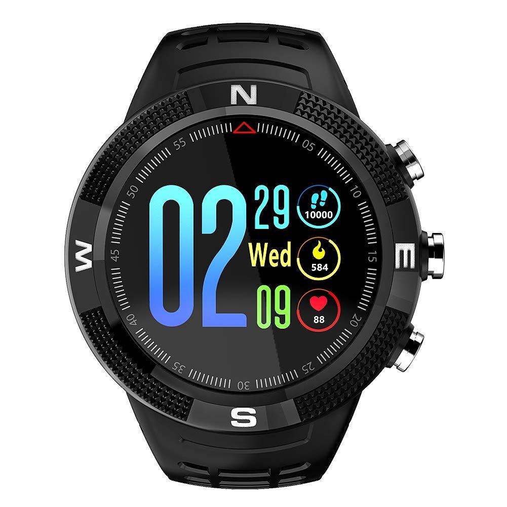 Zerone Fitness Tracker Reloj Deportivo GPS al Aire Libre Smartwatch Pulsera Impermeable Pedometer para Monitor de sueño Condición de Salud ...