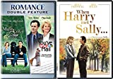 When Harry Met Sally & You've Got Mail DVD + Must' Love Dogs Romance movie Set 3 pack collection