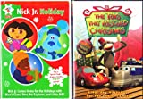 Nickelodeon Christmas : Dora the Explorer a Present for Santa , Blues Clues Blues Big Holiday , Rugrats Babies in Toyland , Little Bill Merry Christmas , Plus : The Toys That Rescued Christmas : Christmas 2 Pack Collection