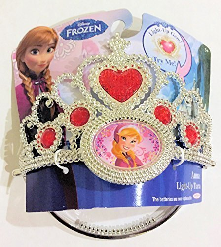 [Disney Frozen Anna Light up Tiara] (Baby Anna Costumes Frozen)