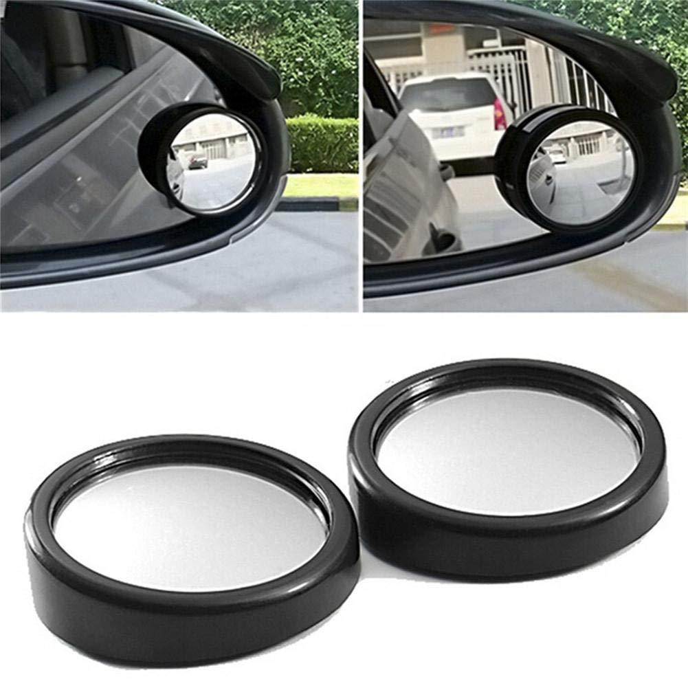 Oddity Spiegel f/ür Tote Winkel Autospiegel rundes HD-Glas rahmenlose konvexen R/ückspiegel f/ür alle Auto-SUV-LKW