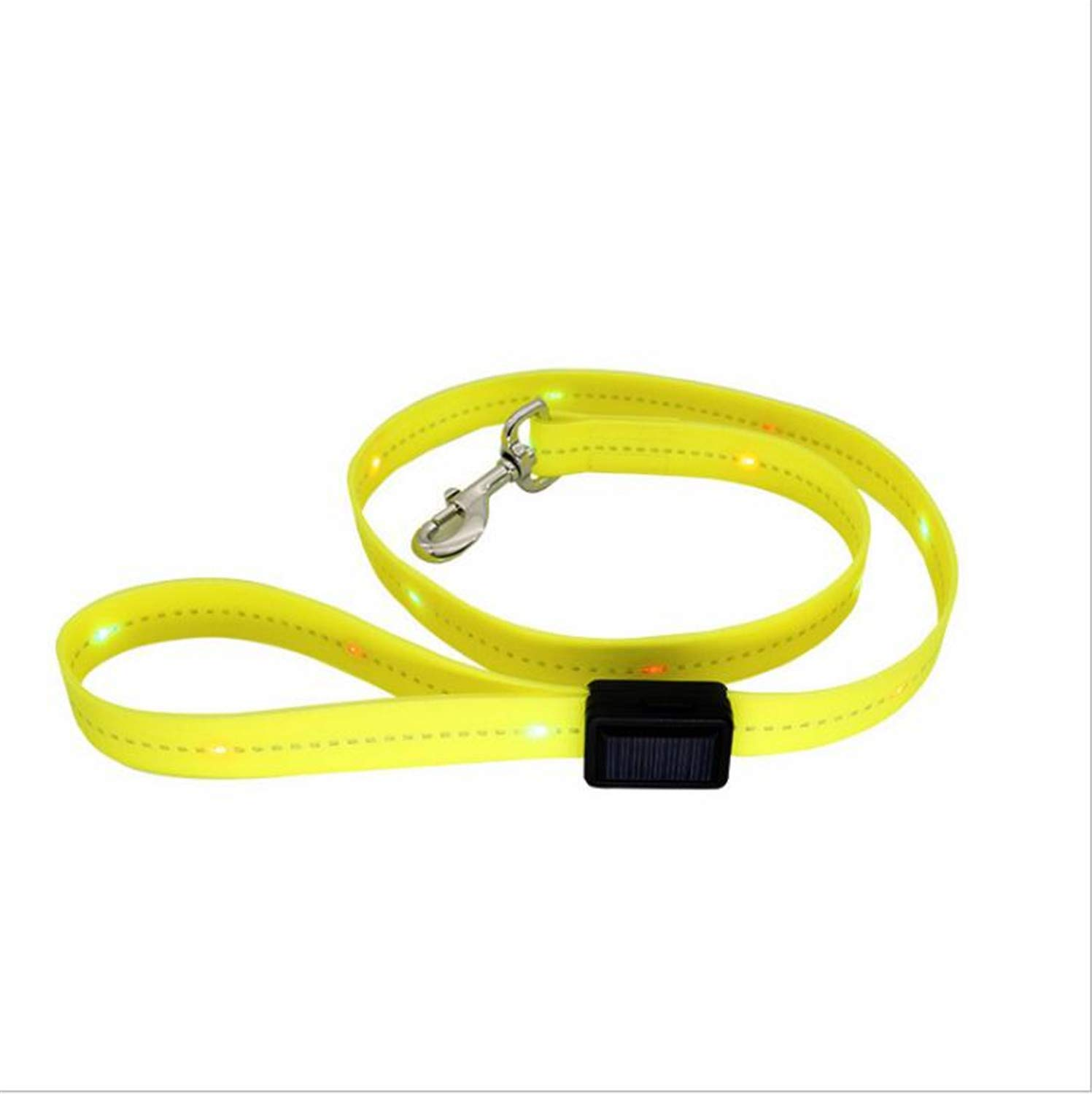 New PVC Charging LED Lighting Dog Leash, Traction Rope Not Easy to Mold, Waterproof, Easy to Clean, Suitable for All Types of Pets