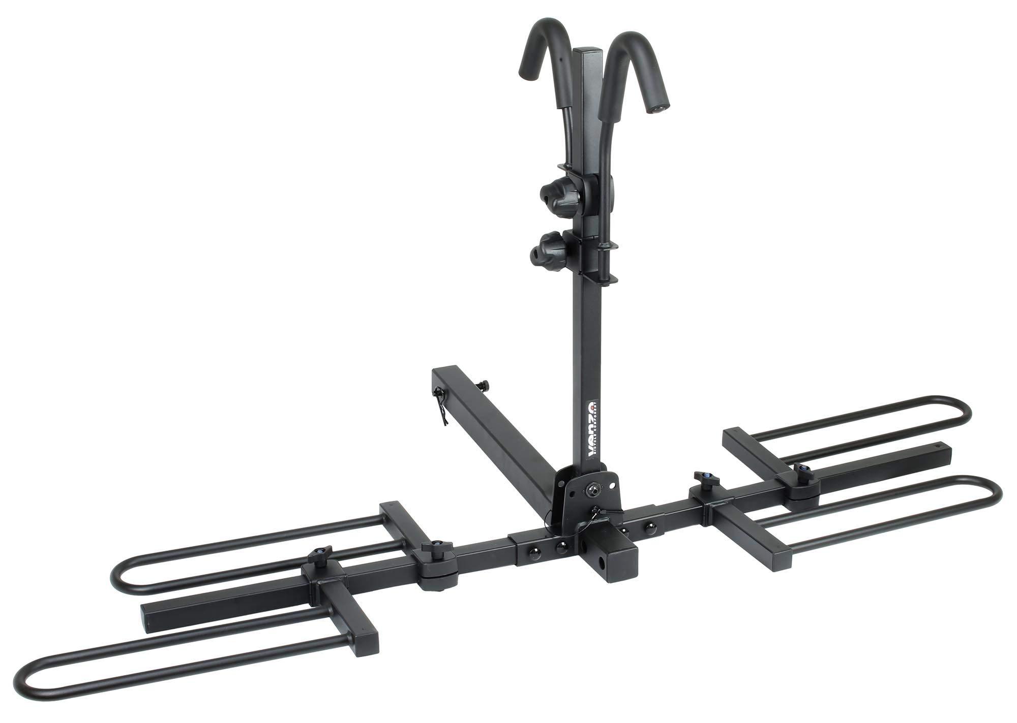 Venzo 2 4 Bike Bicycle Platform Style Carrier Bike Rack
