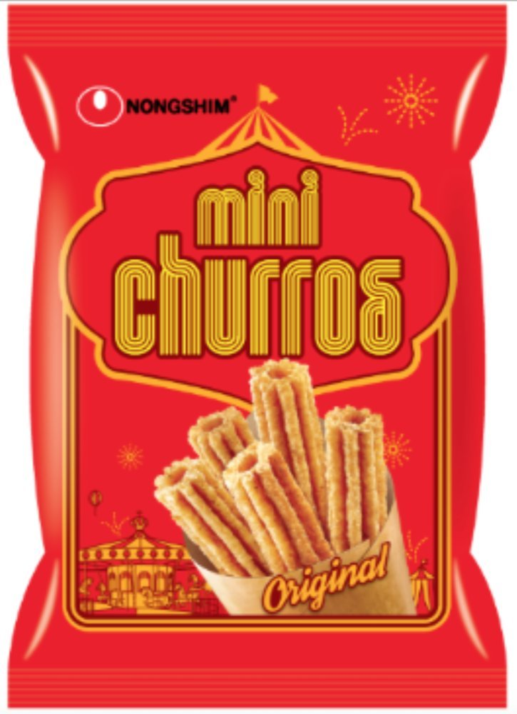 NongShim Mini Churro Snack, 2 46 Ounce (Pack of 20)