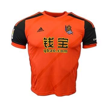 Camiseta Real Sociedad 1ª 2014-15  Amazon.es  Deportes y aire libre 177f0ada08fd3