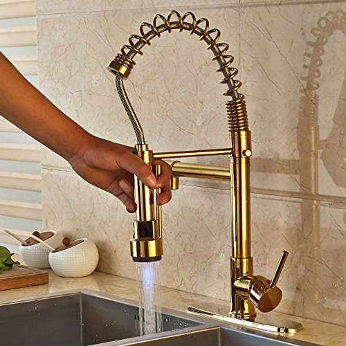 Gold Pull Down Faucet Pull Down Gold Faucet