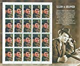 Edward G. Robinson Legends of Hollywood Collectible Stamp Sheet of 20 33? Stamps Scott 3446 by USPS