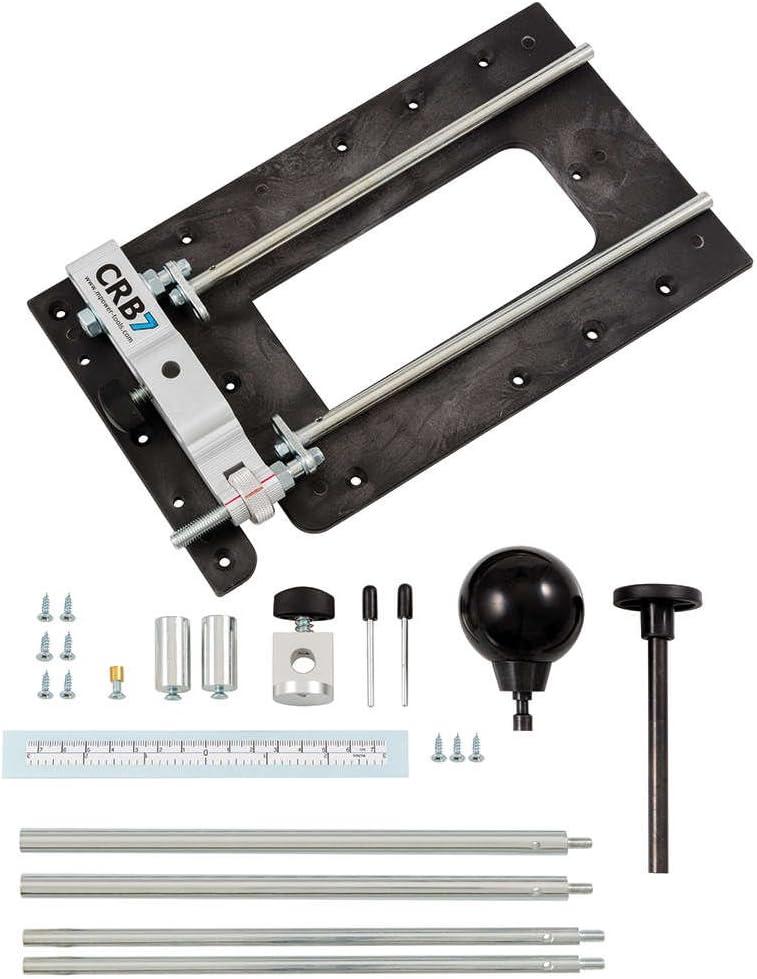 M Power Tools Multifunktions-Basisplatte für Oberfräsen CRB 7 mit 7 Funktionen