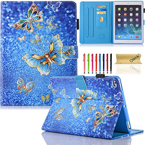 Dteck iPad Mini 1 2 3 4 Case - Slim Fit PU Leather Flip Stan