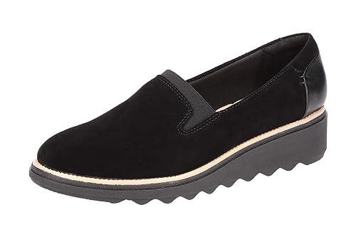 Clarks 26136359 5 - Mocasines de Cuero para Mujer: Amazon.es: Zapatos y complementos