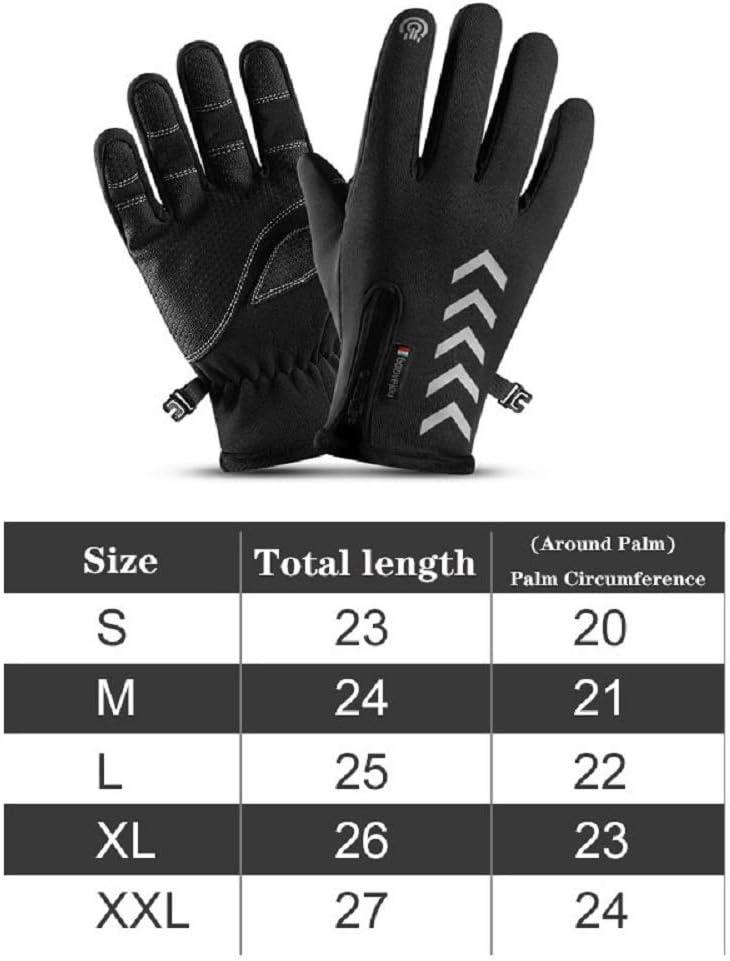 Guanti da Sci per Uomo e Donna Motorrad Handschuh Herren Invernali Touchscreen Handschuhe Skihandschuhe Damen Winter Cevikno Skihandschuhe Herren