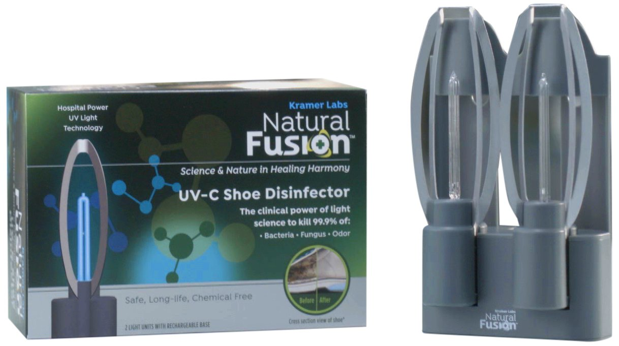 Natural Fusion UV-C Shoe Disinfector, 2 Count