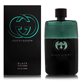 e2a478757 Amazon.com : Gucci Guilty Black by Gucci for Men 3.0 oz Eau de Toilette  Spray : Beauty