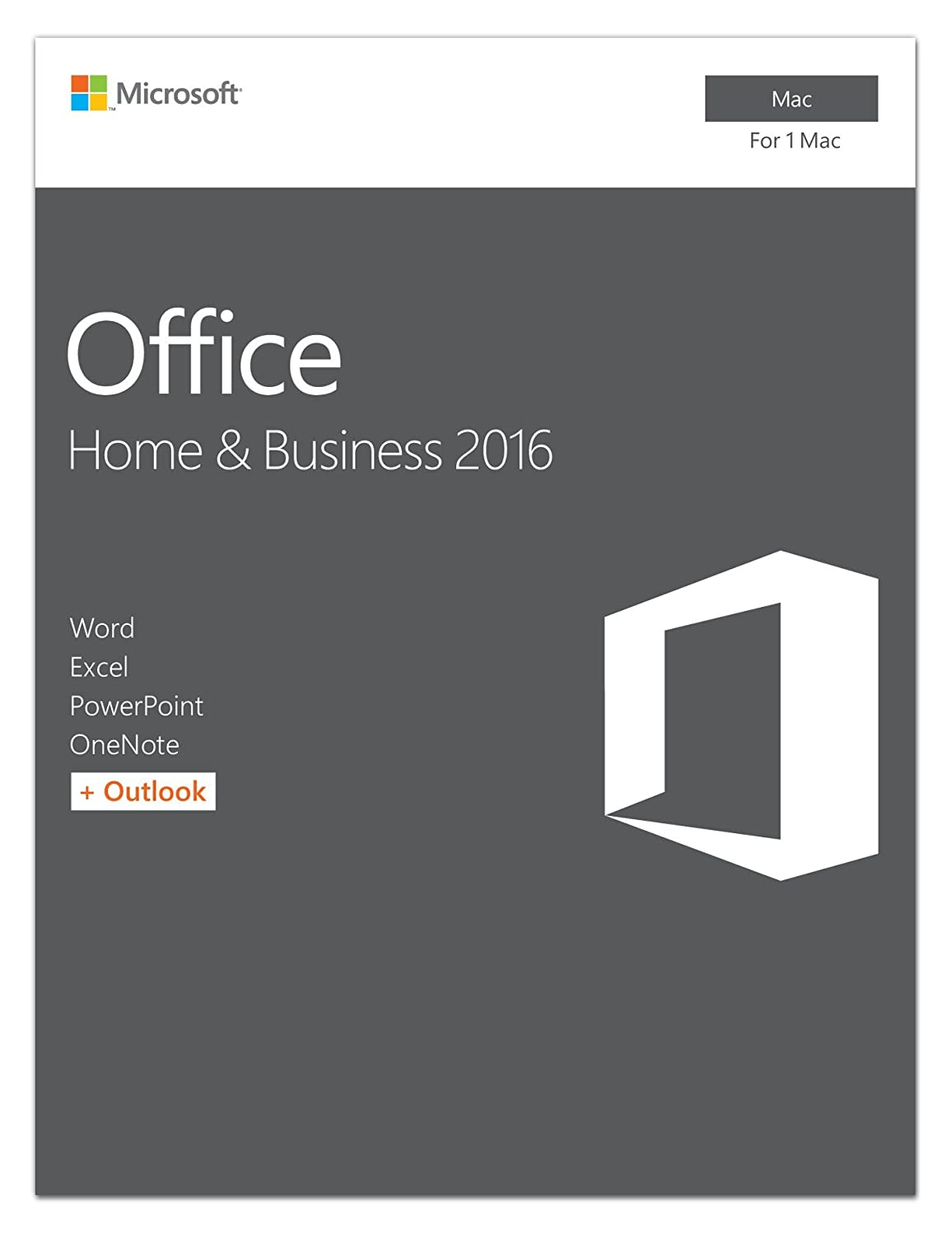 Amazon.com: Microsoft Office Home and Business 2016 for Mac | 1 ...