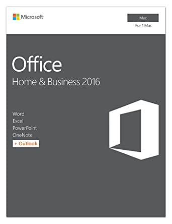 amazon com microsoft office home and business 2016 for mac 1