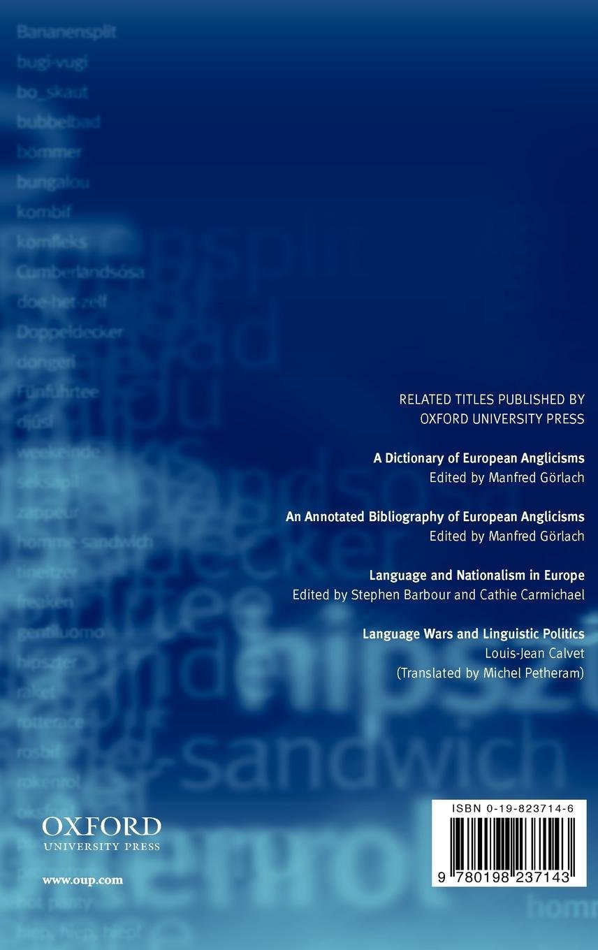 an annotated bibliography of european anglicisms