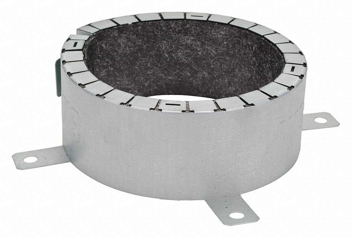 Pipe Collar,2 In,Compatible with Plastic Pipe LCC200