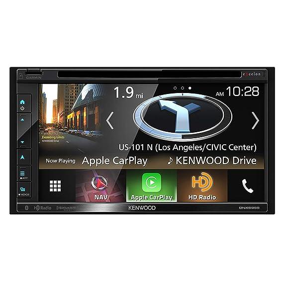 Amazon.com: Kenwood Excelon DNX695S - Receptor de DVD y ...