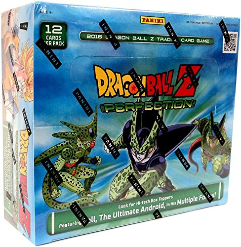 Dragon Dragon Trading Z Ball Cards (DBZ Dragonball Z Perfection Booster Box TCG 2016 Trading Card Game - 24 packs / 12 cards)