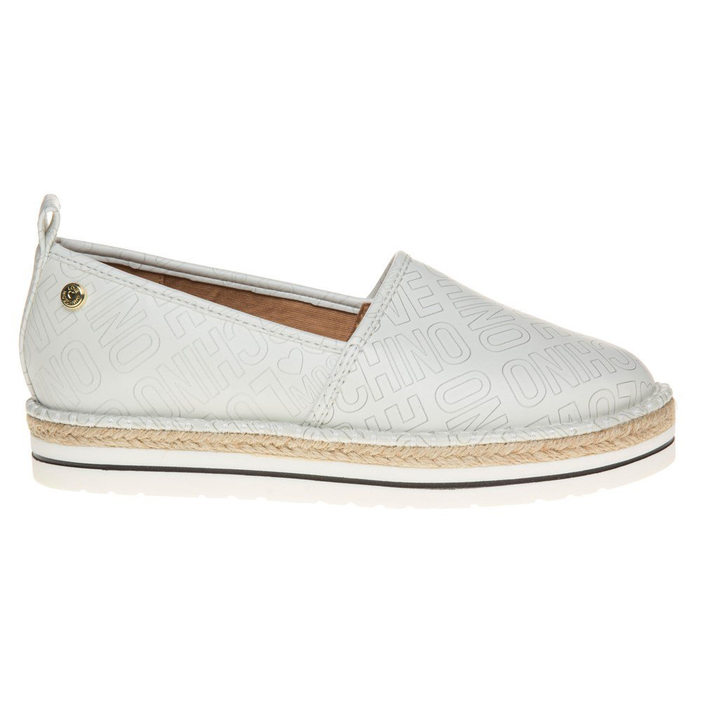 Love Moschino Espadrille Slip On Womens Shoes White by Love Moschino (Image #2)