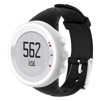 sunhoyu Soft Silicona Pulsera, Reloj de Pulsera para Suunto de Búsqueda M1 M2 M4 M5