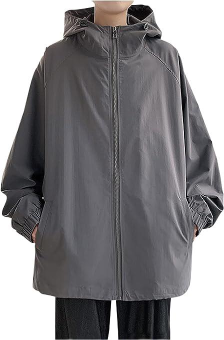 [ゴスファング] ジャケット パーカー ウィンドブレーカー スイングトップ ブルゾン 長袖 ポケット フード カジュアル メンズ