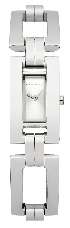 Karen Millen Damen-Armbanduhr Analog Quarz KM121SM