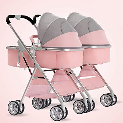 NCSBB Carrito de bebé de Aluminio 3 en 1 Convertible Cuna ...