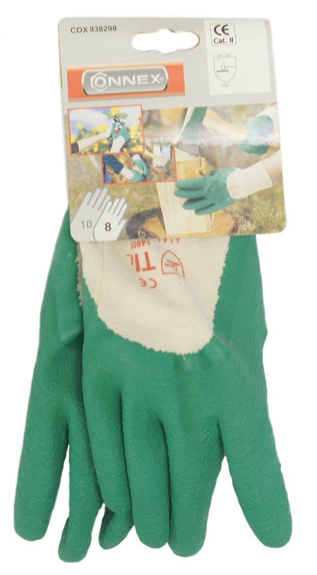 Gr Connex COX938300 Handschuhe Garten gr/ün 10