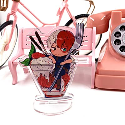 Miss House My Hero Academia Action Figures,Acrylic Double-Sided Stand Sign Cartoon Transparent Big Stand Decoration Anime Fans Gift(H06): Arts, Crafts & Sewing