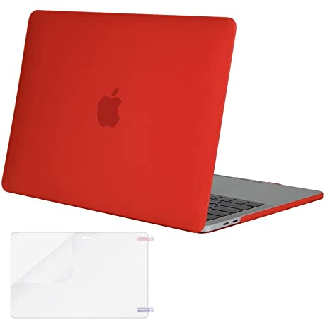 MOSISO MacBook Pro 13 inch Case 2019 2018 2017 2016 Release A2159 A1989  A1706 A1708,Plastic Hard Shell Cover& Screen Protector Compatible Newly