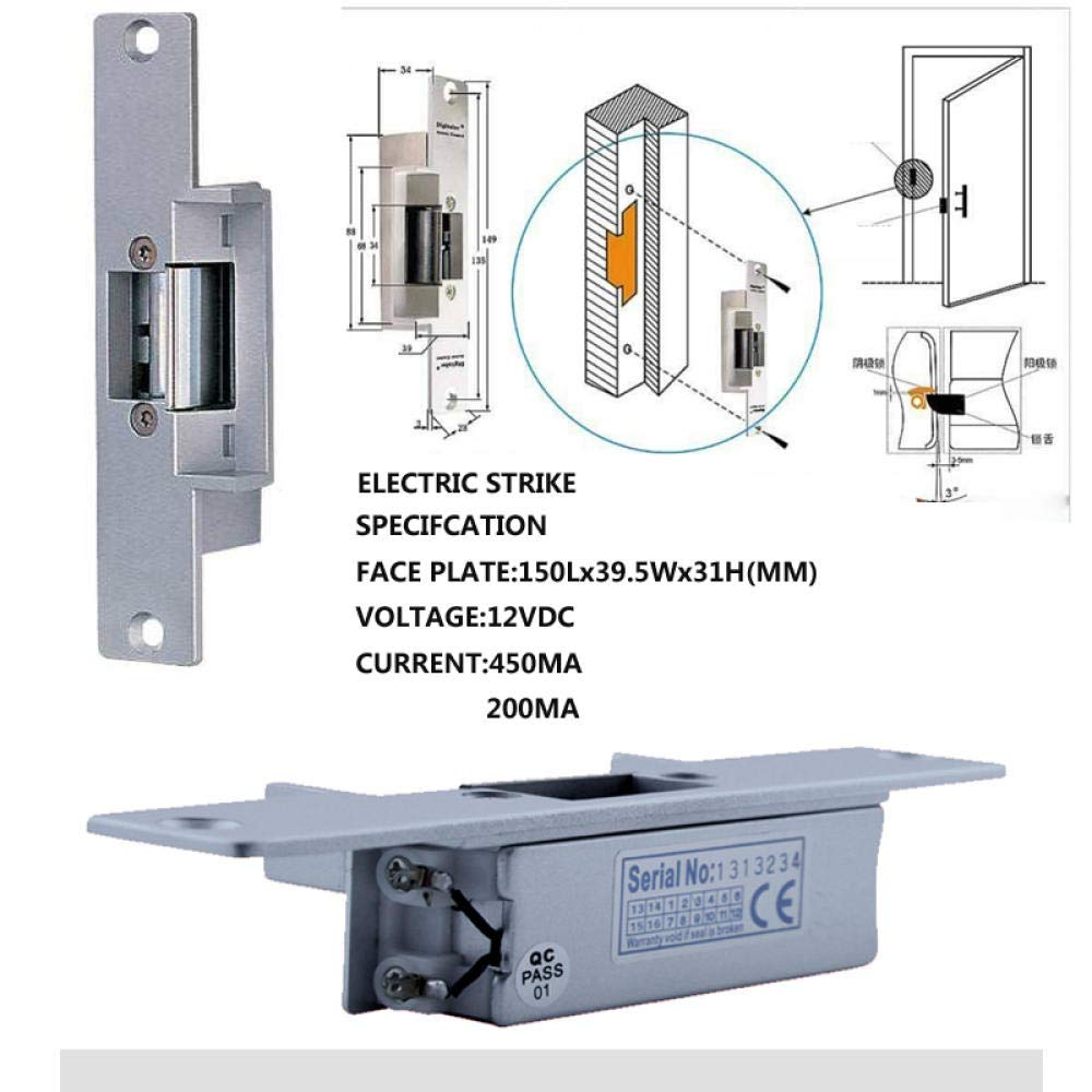 DYWLQ 9 pulgadas Inal/ámbrico Inteligente IP Video Sistema de intercomunicaci/ón con sistema de intercomunicaci/ón con timbre de puerta Sistema de entrada con timbre de c/ámara de alta definici/ón Control