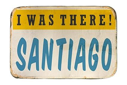 Cama Perro Retro Wall Art Metropole Santiago Chile impreso 40x60 cm