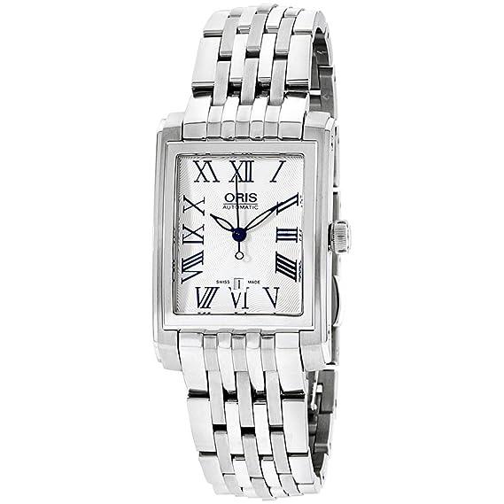 ORIS Reloj DE Mujer AUTOMÁTICO Correa Y Caja DE Acero 56176564071MB: Amazon.es: Relojes