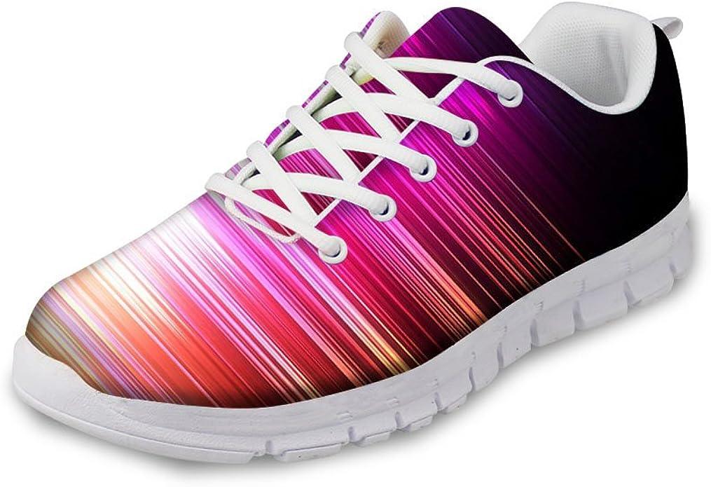 EnlaMorea Men Walking Fitness Sport Shoes Breathable Lightweight Mesh Sneakers